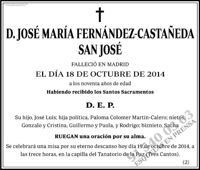 José María Fernández-Castañeda